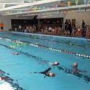 Feest bij zwembad Kontrast