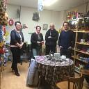 Speelgoed Bank Nieuwleusen door CDA-fractie bezocht