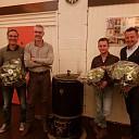 IJsclub Stokvisdennen neemt afscheid van drie bestuursleden