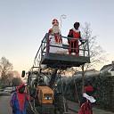 Sinterklaas komt aan op De Carrousel