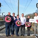 Stichting Station tot Station Loop reikt 1500 euro uit aan Stichting Topsport For Life