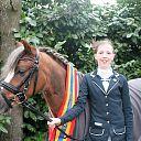 Gwendolyn Krieger (12) uit Dalfsen kampioen OV