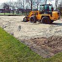Aanleg beachveld op Sportpark Gerner begonnen