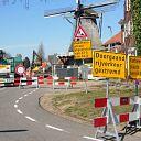 Raadhuisstraat afgesloten tot 15 april