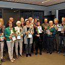 Veertien nieuwe taalcoaches in Dalfsen en Ommen.