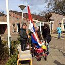 Minie Kamphuis op Koningsdag 80 jaar!