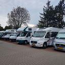 Veel campers in Dalfsen vandaag