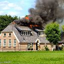 Woningbrand Hoevenweg