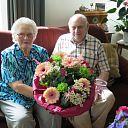 Bruidspaar Evertsen- Broek  60 jaar getrouwd