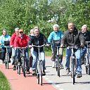 Samen fietsen in Nieuwleusen