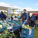 Joris brengt vitale groenten bij de mensen thuis