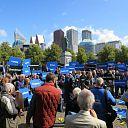 """Protest in Den Haag """"Hoog Overijssel"""" groot succes"""