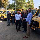 van Leussen levert 5 nieuwe bedrijfswagens