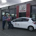 Toyota van Leussen levert auto aan TeamNL!