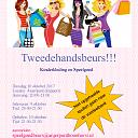 Tweedehands speelgoed- en kledingbeurs Hoonhorst.