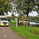 Fietser aangereden op Leemculeweg Dalfsen