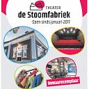 De krant van Theater van de Stoomfabriek is uit!