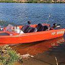 Gestolen oranje speetboot