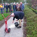 Trottoir Bosmansweg in Nieuwleusen