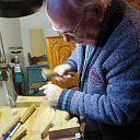Dalfser houtsnijkunstenaar Harm Zwart