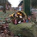 Prachtig: Mini-kerststal