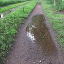 Slechte toestand fiets/voetpaden