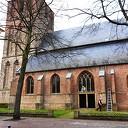 Klok grote kerk loopt voor