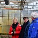 Alain Caron oogst, kookt en proeft bij kwekerij Eef Stel