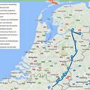 Overijsselse wolf (met zender) zit nu in België