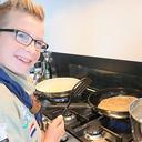 Pannenkoeken eten bij Stefan op vrijdag 2 maart 2018