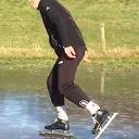 Net zo goed schaatsen als zingen