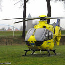 Trauma heli Lifeliner 4 maakt tussenstop in Dalfsen