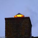 Schoorsteenbrand aan de Elskamp