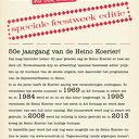 Heino Koerier: al 50 jaar nu
