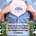 FC Dalfsen doet mee aan Rabobank Clubkascampagne