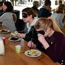 Blinde lunch in de Trefkoele+