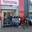 VanMoof E-bike gewonnen bij Autobedrijf van Leussen