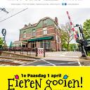 1e Paasdag Eieren gooien bij Het Oude Station