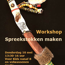 Workshop Spreekstokken maken
