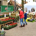 Lente fair in het centrum van Dalfsen.
