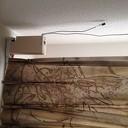 Elektrisch open en sluiten van de gordijnen: een mooi hulpmiddel.