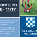 Nieuw in Dalfsen: G-hockey