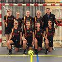Zaalteam SV Dalfsen Dames 1 gaat voor kampioenschap