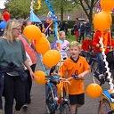 Oranje optocht Dalfsen (Video).