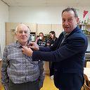 De vrijwilliger van de maand april is: Marius Veltmaat uit  Nieuwleusen