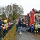 De brandweer op school voor je spreekbeurt, bij GBS De Uitleg