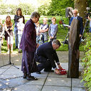 4 mei herdenking in Oudleusen.