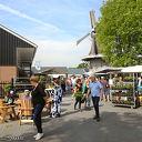 Meimarkt bij molen Massier