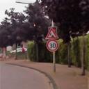 Wegwerkzaamheden in Hoonhorst