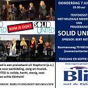 Donderdag mini-concert van praiseband SOLID UNITED